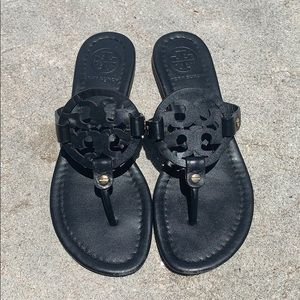 Tory Burch Miller Sandals - black